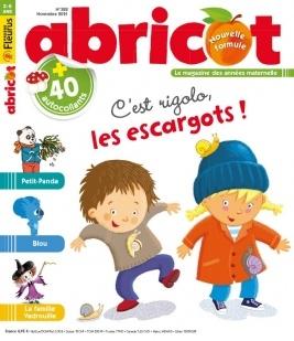 abricot abonnement magazine enfant pas cher prismashop. Black Bedroom Furniture Sets. Home Design Ideas