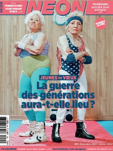 Couverture du dernier numéro de NEON
