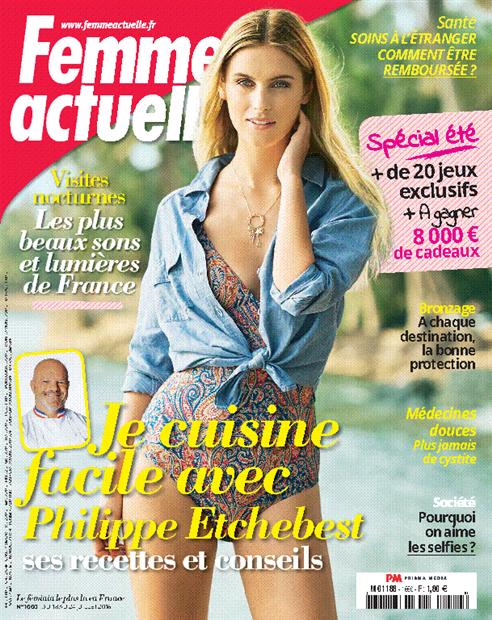 43f9a52d85 Achat Femme Actuelle n°1810 3 juin 2019 version numérique et papier -  Prismashop