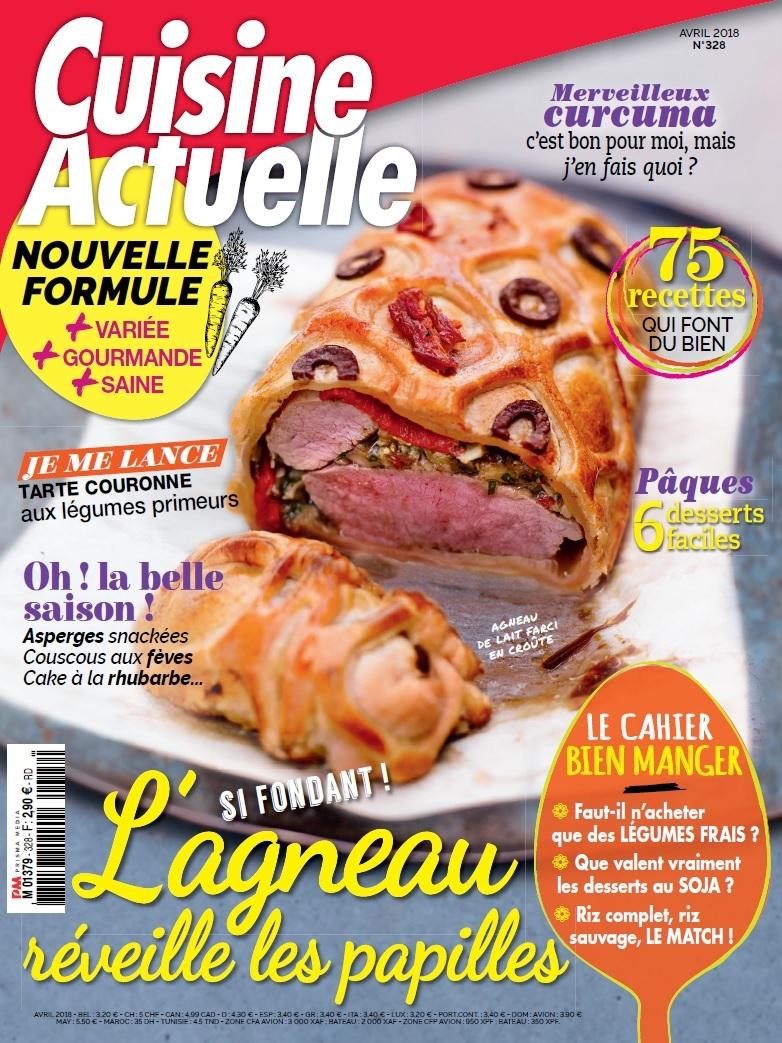 14932b284c7 Achat Cuisine Actuelle n°341 8 avr. 2019 version numérique et papier -  Prismashop